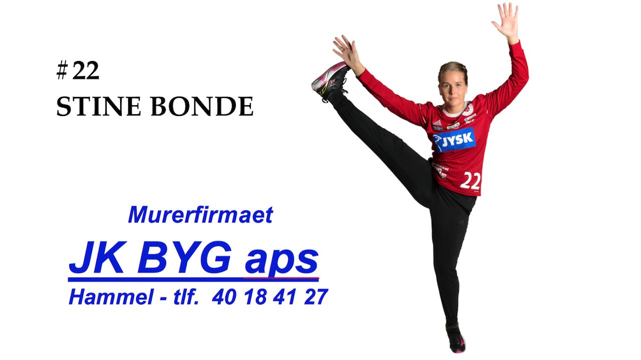 22 Stine Bonde