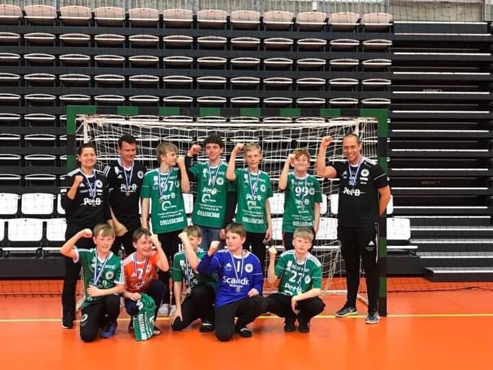 U12 Drengene vandt JM-sølv