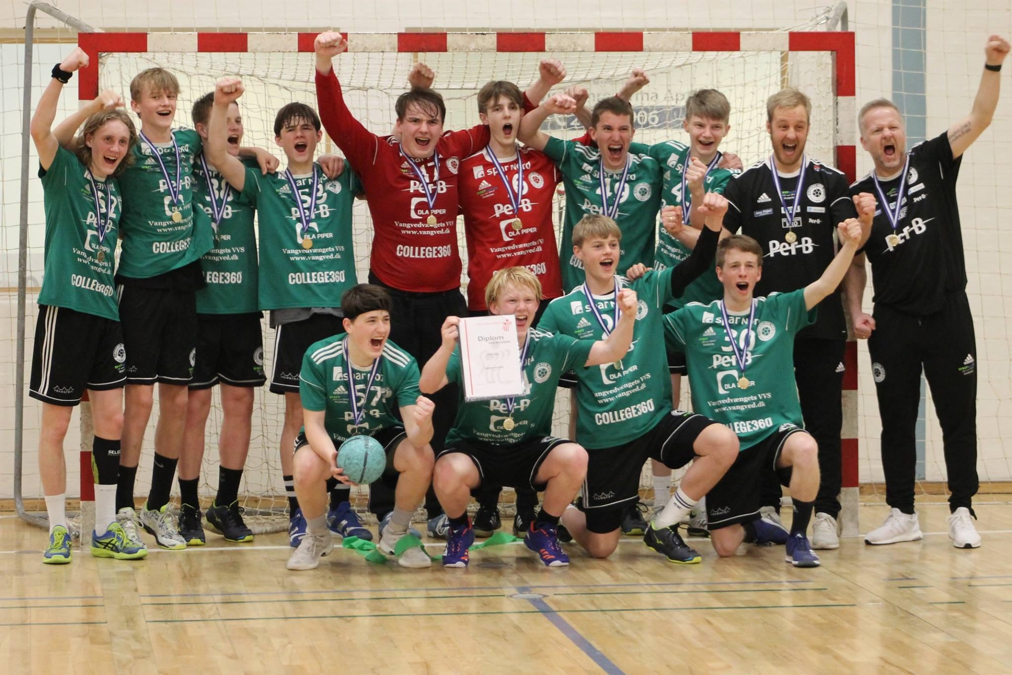 U16 drenge – Jysk mester i A-rækken