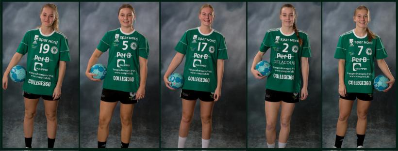 Fem U19-spillere indlemmes i ligatruppen til den kommende sæson