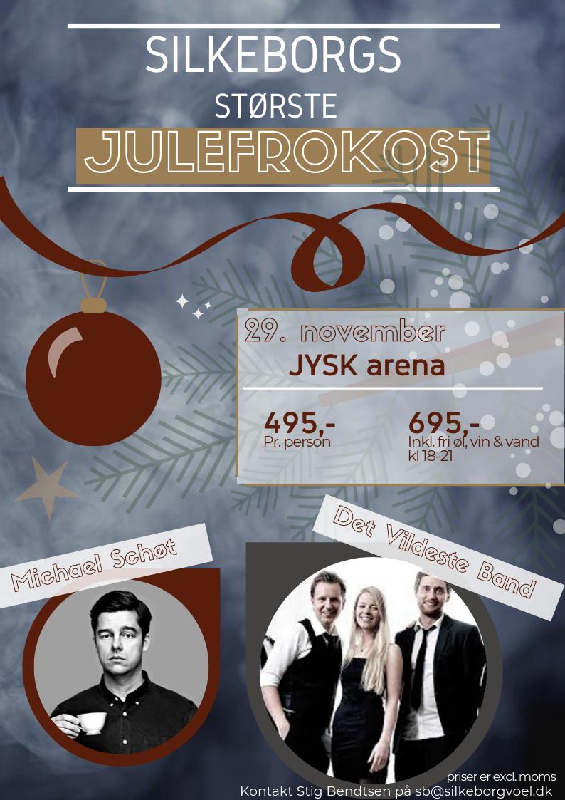 Julefrokost 2019 m/ Michael Schøt og Det Vildeste Band
