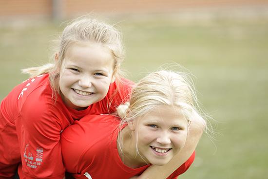 Håndboldpiger fra Silkeborg-Voel KFUM