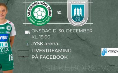 Deltag i konkurrence og stem på kampens spiller i Silkeborg-Voels app