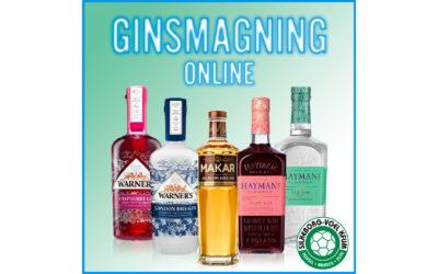 Ginsmagning online