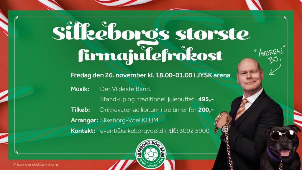 Silkeborgs største firmajulefrokost